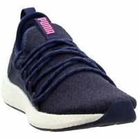 Puma Nrgy Neko Knit  Casual Running  Shoes - Navy - Womens