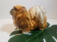 """Vintage Large Shafford """" Japan"""" Pekingese Dog Statue Figurine"""