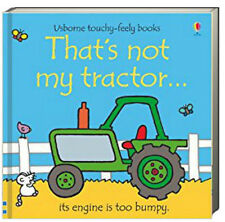Usborne Touchy Feely Books Thats Not My Tractor (Board Book)  FREE shipping $35