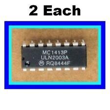 Uln2003A / Mc1413P Dip 7 Open Collector Common Emitter Npn Darlingtons 50V 500ma