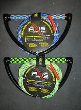 "AXIS Wakeboard Rope - 15"" EVA Handle 3 Section Mainline"
