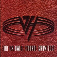 VAN HALEN (FOR UNLAWFUL CARNAL KNOWLEDGE CD - SEALED + FREE POST)
