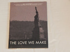 The Love We Make (DVD) + I Saw Him Standing There (HCwDJ) Paul McCartney LOT