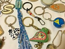 VINTAGE NOW Lot Collectible KEYRING Key Chain Keychains GLASS BEADS BETTY BOOP +