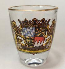 Bayern Bavaria Germany Flag Shot Glass Travel Souvenir Barware