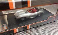 PREMIUM X PRD535 JAGUAR XK SS model road car silver body 1957 RHD 1:43rd scale
