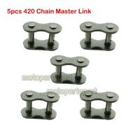 420 Chain Master Connecting Link 10pc for Moped Scooter Go Kart ATV Kandi Taotao