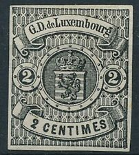 [21] Luxembourg 1859-63 Good stamp very fine MH value $160