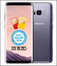 Samsung Galaxy S8 G950FD 64GB DUAL SIM/ Factory Unlocked (Grey) + UK Warranty