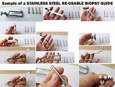 Biopsy Guide for GE Transducers - Stainless steel