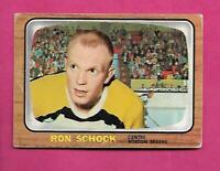 1966-67 TOPPS/OPC # 100 BRUINS RON SCHOCK GOOD CARD (INV# C7980)