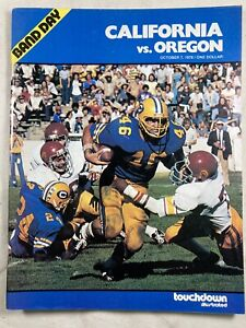 California USC 1974 College Football Program by Touchdown Illustrated