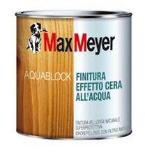 MAX MEYER ACTIVE AQUABLOCK FINITURA EFFETTO CERA ALL'ACQUA filtro anti UV legno