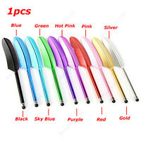 Feather Capacitive Stylus Touch Screen Pen for iPhone 4S 4G 3GS iPod Touch New