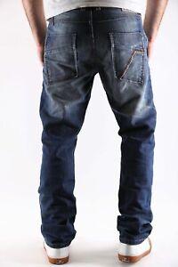 Timezone Herren Jeans Hose Lewin TZ Slim 3101 Farbe blau  Größen wählbar