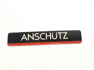 Sticker Anschutz length  75 mm a width of 18 mm