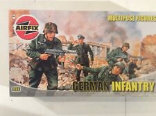 AIRFIX.1/32 MULTIPOSE FIGURES - GERMAN INFANTRY #03582 - RELEASED 2005