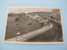 Malta Pieta Wharf Pieta Postcard Aden Stamp posted to South Australia