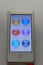 New listing Apple iPod nano 7th Generation Gold (16 Gb) 30 Day Warranty 0804-03