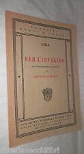 PER L INVALIDO Lisia Con introduzione e commento di Giovanni La Magna Rondinella