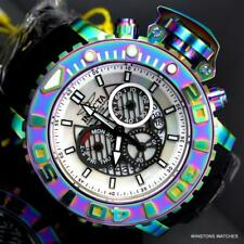 Invicta Sea Hunter Gen II Iridescent White MOP Chrono 70mm Swiss Mvmt Watch New