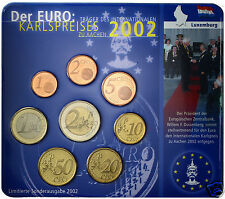 manueduc   LUXEMBURGO   BLISTER 2002  KARLSPREISES   NUEVO