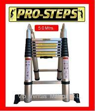 Escalera telescópica 5.0 mtrs A-Type marca Pro-Steps