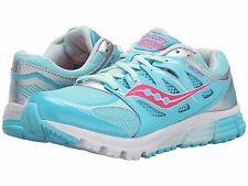 Saucony Sneakers Girls Lace  Tuquoise/Silver/Vizi Coral Youth Size  4 1/2  M