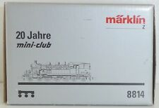 Märklin mini-club 8814 DB Dampflok BR78 in Sterling-Silber (925)  Spur Z  OVP