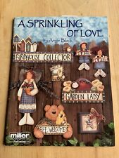 Tole Painting Instruction and Pattern Book Sprinkling Love Wooden Decor Crafts