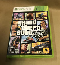 Grand Theft Auto V Disc 1 only (install) Microsoft Xbox 360 wired headset Bundle