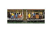 HO Bachmann Mini-People Sitting Passenger Figures 42342 Layout, Scenery