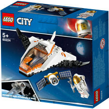 Lego City Space Satellite Service Mission Building Set - 60224