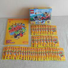 LEGO Sainsburys Creare il mondo Bundle, Set 40256, 200 FIGURINE e album TUTTE B/N