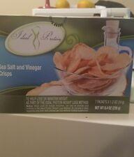 Ideal Protein Sea Salt & Vinegar  Crips Bundle of 2 Boxes ⛟ SAME DAY SHIPPING