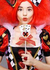 La reine de coeur style carte à jouer baguette