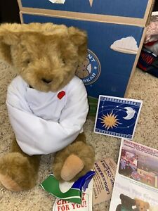CRAZY FOR YOU Vermont Teddy Bear Straight Jacket Roses Box NewsClippings Banned