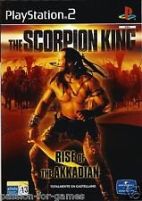 THE SCORPION KING RISE OF THE AKKADIAN for Playstation 2 PS2 - PAL