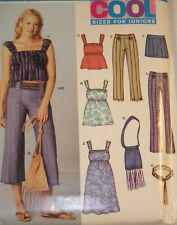 NL-6264 Dress Top Pants Bag Sewing Pattern New Look Size 3/4 to 13/14 Uncut