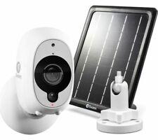 Swann SWWHD-INTCMSOLSTD Full HD 1080p Smart Security Camera, Mount & Solar Panel