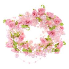Artificial Flower Pearl Hairband headpiece Headband for Wedding Bridal Bride