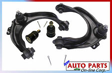 2 NEW UPPER CONTROL ARMS WITH BALL JOINTS + lower ball joints ACCORD 03-07 TSX