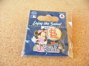 2013 WS World Series St. Louis Cardinals Minnie Mouse Disney lapel pin MLB