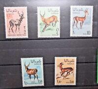 """FRANCOBOLLI SOMALIA 1968 """"ANIMALI FAUNA SAVANA"""" NUOVI MNH** SET (CAT.X)"""