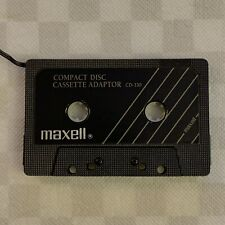 Maxell Cd-330 - Cassette Player Connecting Adapter - Walkman - Mp3 - iPod - Cd