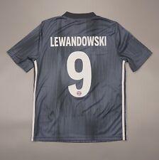 NWOT Lewandowski Bayern Munich 2018 2019 Football Shirt Adidas Youth Size L Kit