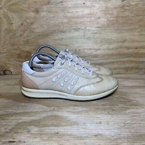 Ecco Spikeless Golf Shoes, Women's size 10-10.5 / EU 41, Tan