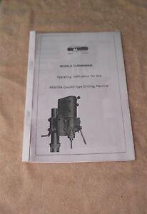 Arboga Maskiner  Machine Manual