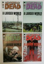 The Walking Dead #93 94 95 96 1st First Prints - A Larger Word Story Arc Hilltop