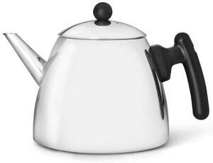 doppelwandige Teekanne Duet® classic Edelstahl glänzend 1,2 ltr.
